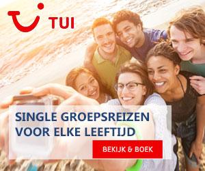 tui single reizen jongeren banner