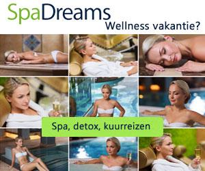 Spadreams wellness vakantie banner